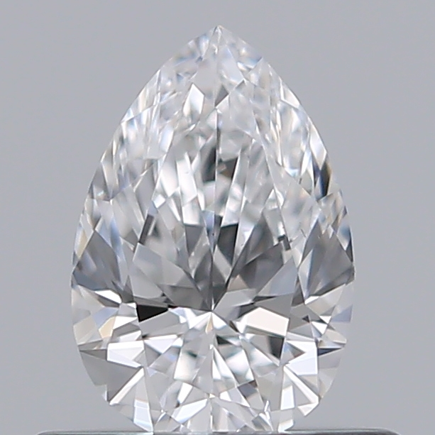 0.41 Carat Pear Loose Diamond, D, VS2, Ideal, GIA Certified