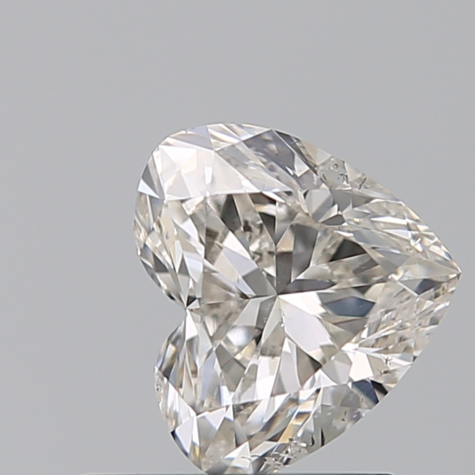 0.75 Carat Heart Loose Diamond, H, SI2, Ideal, GIA Certified