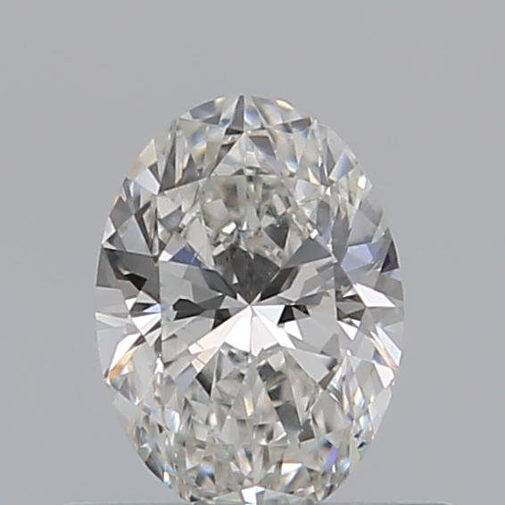 0.40 Carat Oval Loose Diamond, D, SI1, Super Ideal, GIA Certified