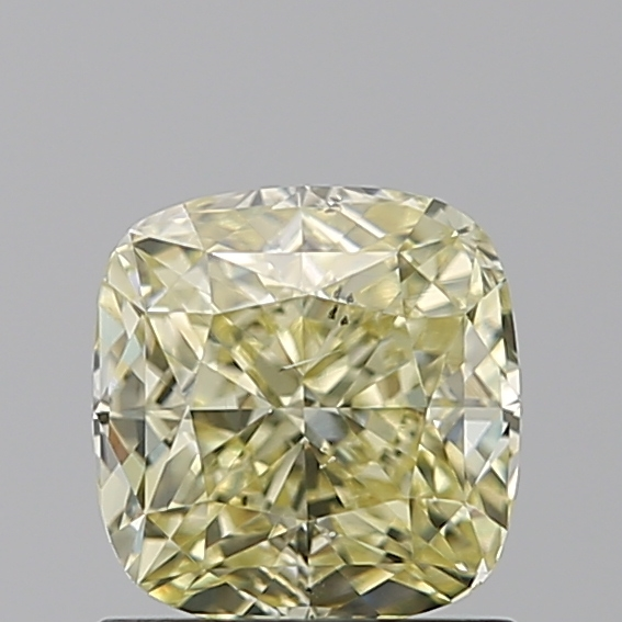 1.01 Carat Cushion Loose Diamond, FANCY, SI1, Excellent, GIA Certified