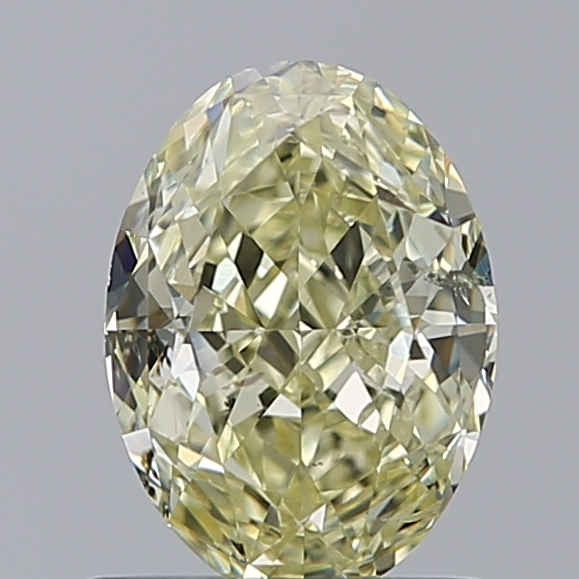 1.12 Carat Oval Loose Diamond, FANCY, SI2, Ideal, GIA Certified
