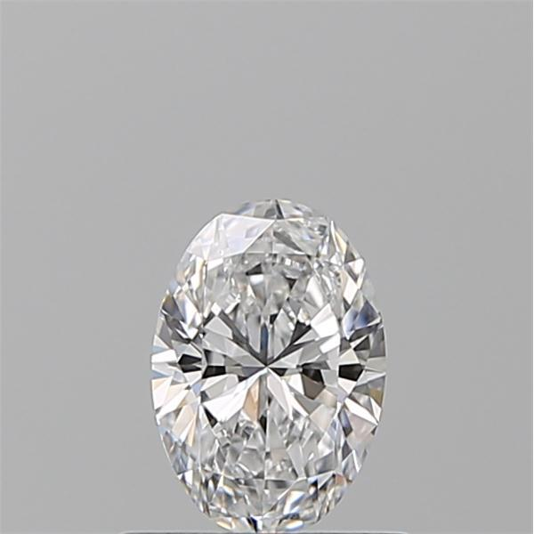 0.50 Carat Oval Loose Diamond, D, VS1, Super Ideal, GIA Certified