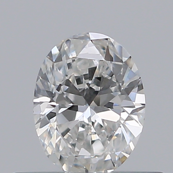 0.32 Carat Oval Loose Diamond, F, VS2, Excellent, GIA Certified