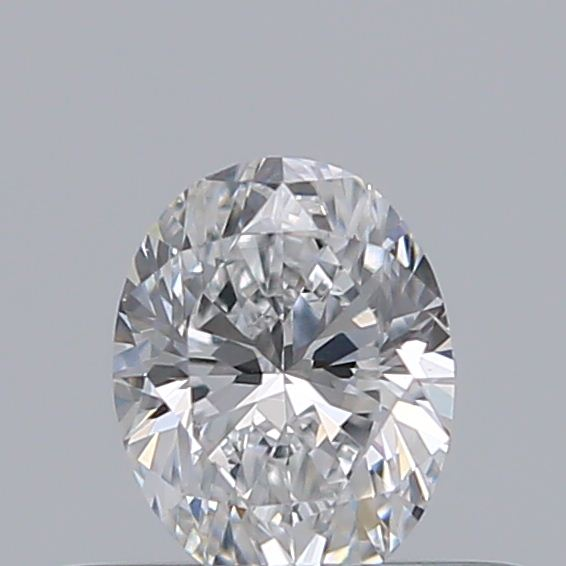 0.32 Carat Oval Loose Diamond, D, SI1, Excellent, GIA Certified