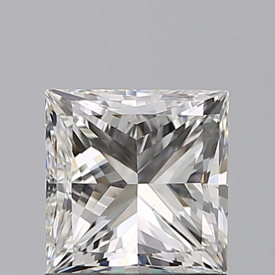 1.00 Carat Princess Loose Diamond, I, VS2, Super Ideal, GIA Certified