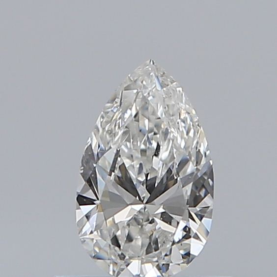 0.40 Carat Pear Loose Diamond, F, SI1, Ideal, GIA Certified