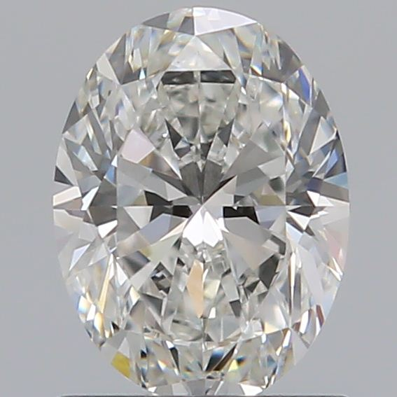 0.90 Carat Oval Loose Diamond, G, IF, Ideal, GIA Certified