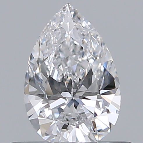 0.40 Carat Pear Loose Diamond, D, VS2, Ideal, GIA Certified | Thumbnail