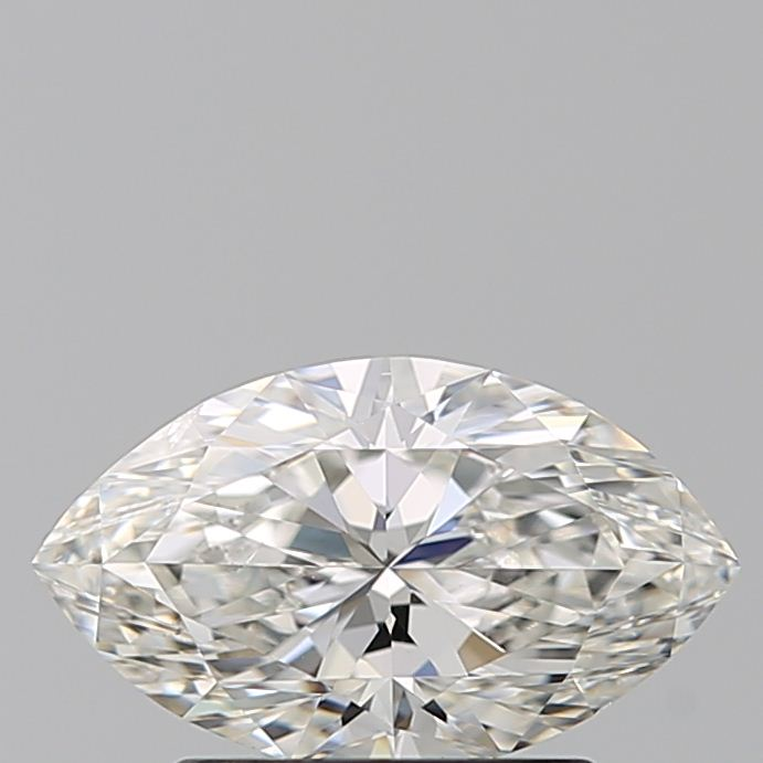 1.00 Carat Marquise Loose Diamond, H, SI1, Excellent, GIA Certified