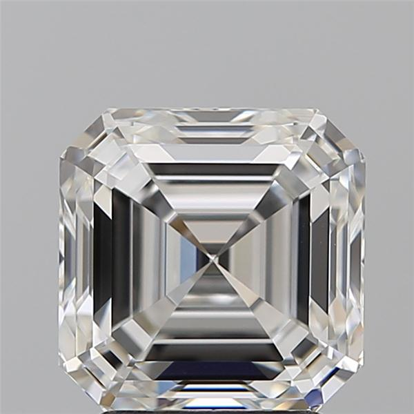3.01 Carat Asscher Loose Diamond, F, VS1, Super Ideal, GIA Certified