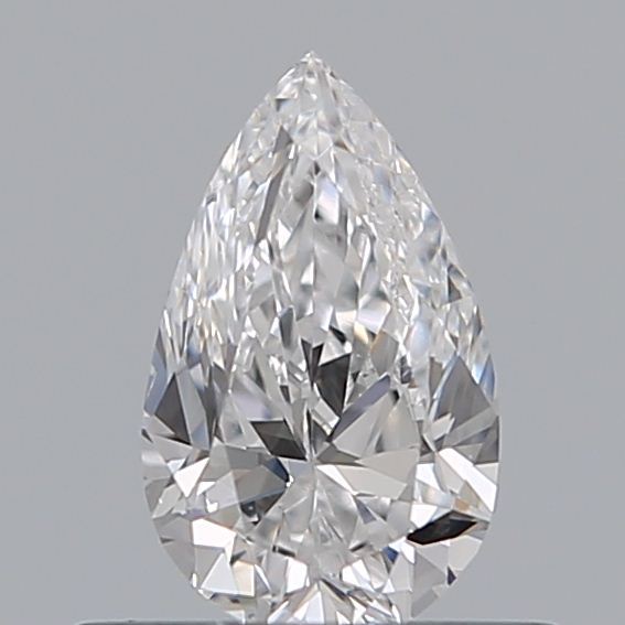 0.40 Carat Pear Loose Diamond, D, VS2, Excellent, GIA Certified