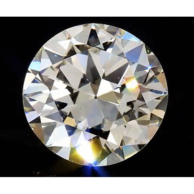 6.80 Carat Round Loose Diamond, M, VS1, Good, GIA Certified