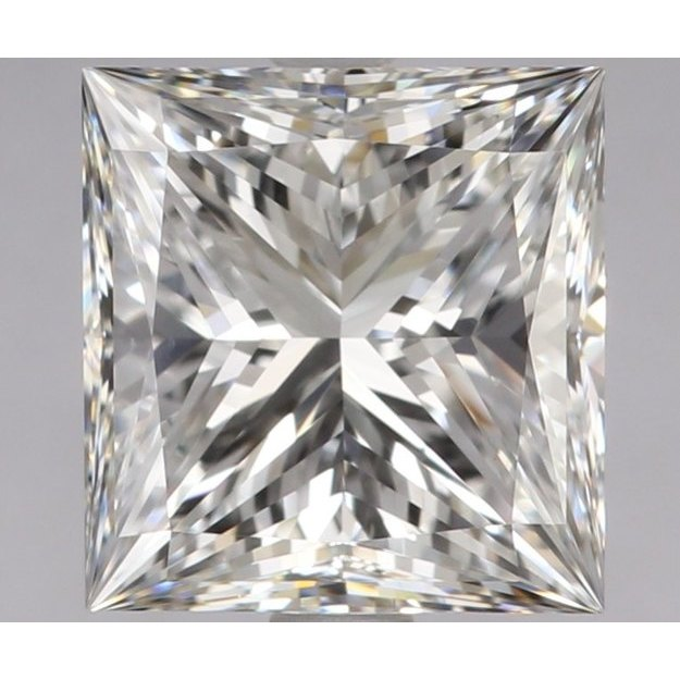 2.00 Carat Princess Loose Diamond, E, VS1, Super Ideal, GIA Certified