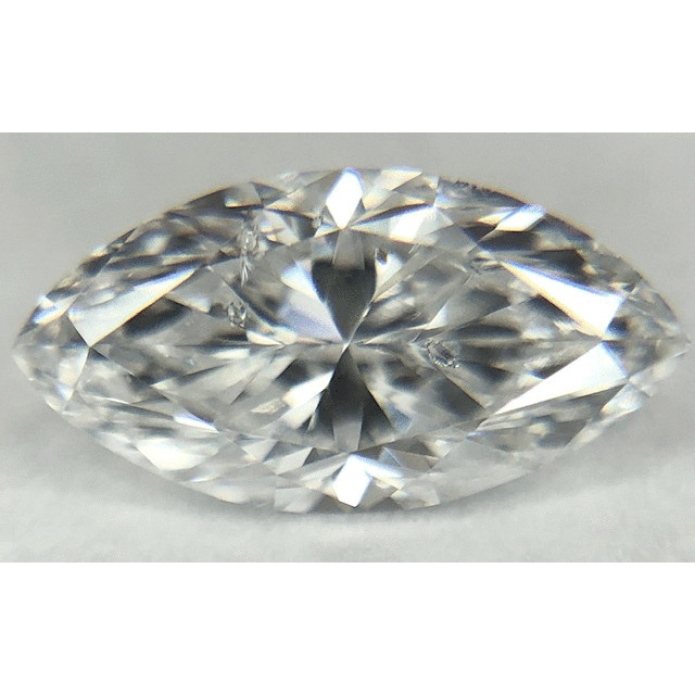 0.61 Carat Marquise Loose Diamond, D, I1, Very Good, GIA Certified