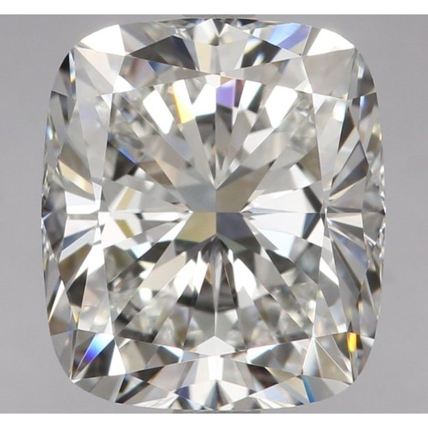 2.50 Carat Cushion Loose Diamond, E, VVS2, Ideal, GIA Certified