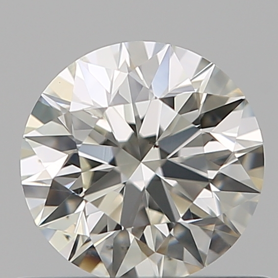 0.50 Carat Round Loose Diamond, J, SI1, Super Ideal, GIA Certified | Thumbnail