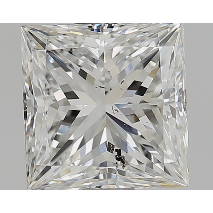 1.51 Carat Princess Loose Diamond, F, SI2, Super Ideal, GIA Certified