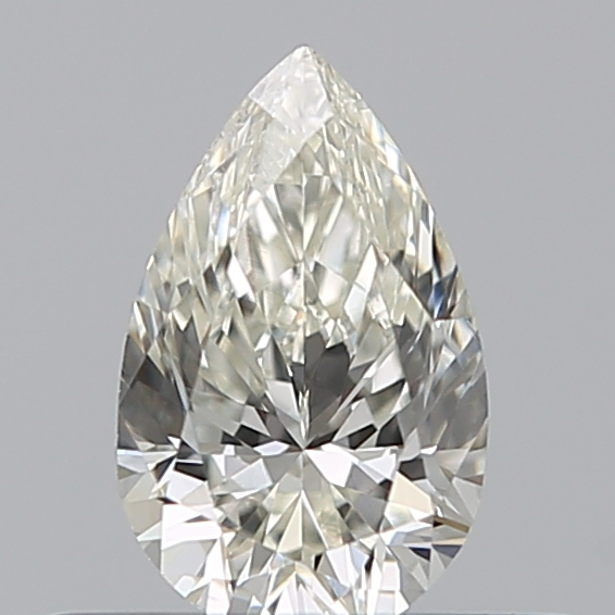 0.31 Carat Pear Loose Diamond, J, SI1, Excellent, GIA Certified