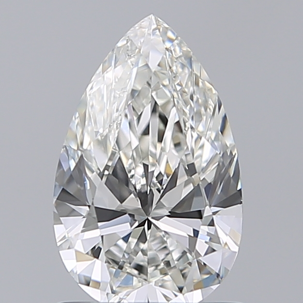 1.01 Carat Pear Loose Diamond, H, VS1, Super Ideal, GIA Certified