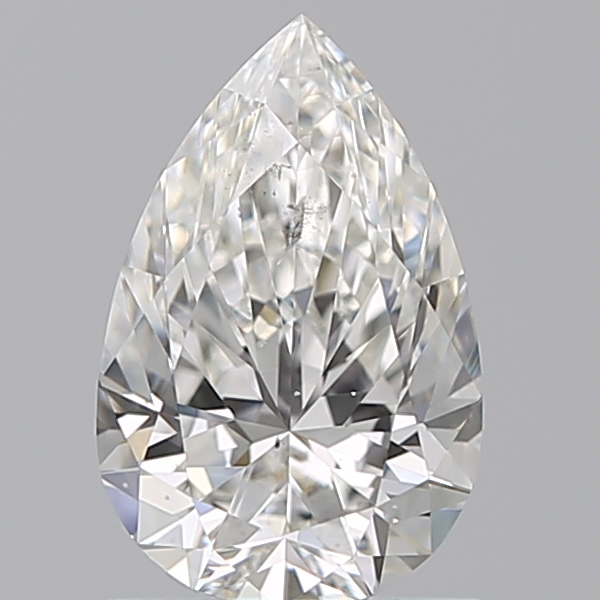 0.97 Carat Pear Loose Diamond, H, SI1, Super Ideal, GIA Certified