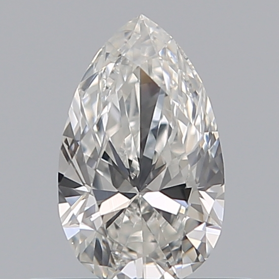 0.38 Carat Pear Loose Diamond, G, VS2, Ideal, GIA Certified