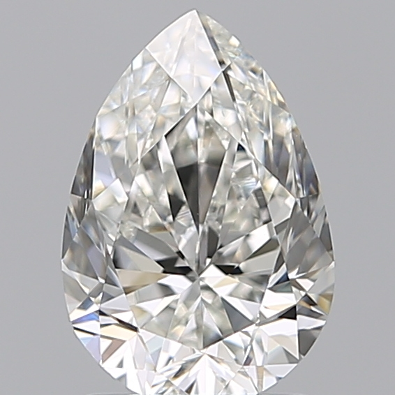 1.50 Carat Pear Loose Diamond, H, VS2, Excellent, GIA Certified