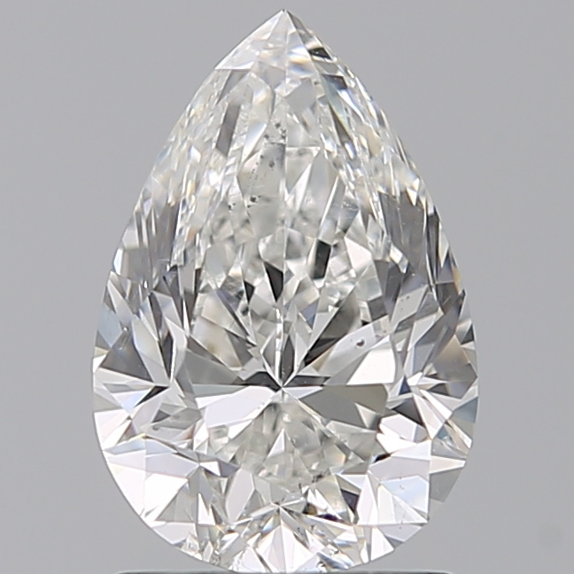 1.50 Carat Pear Loose Diamond, G, SI1, Excellent, GIA Certified