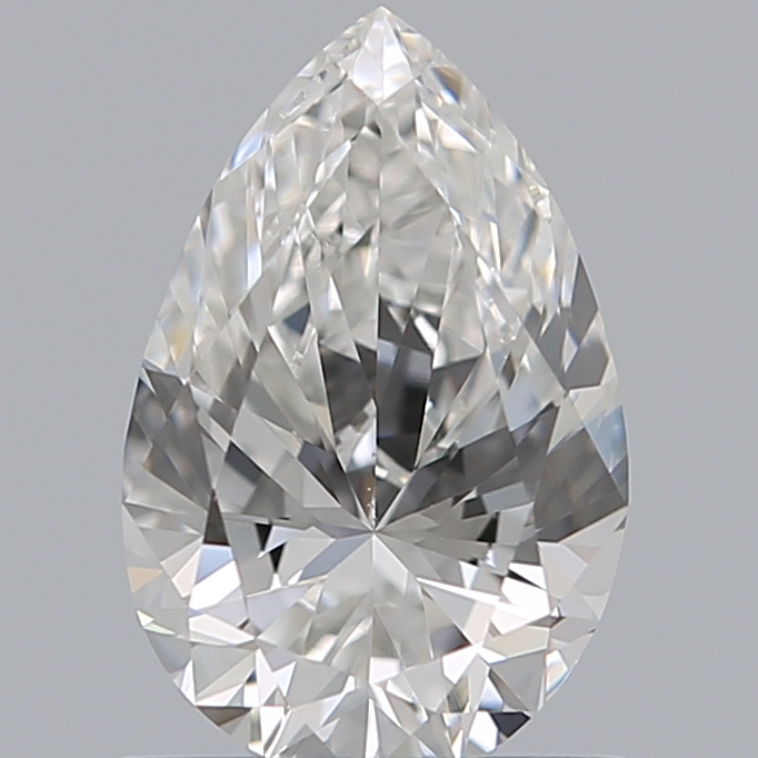 0.80 Carat Pear Loose Diamond, F, VVS1, Ideal, GIA Certified | Thumbnail