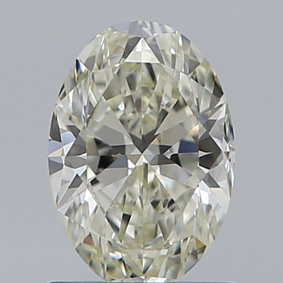 0.96 Carat Oval Loose Diamond, L, VS1, Ideal, GIA Certified