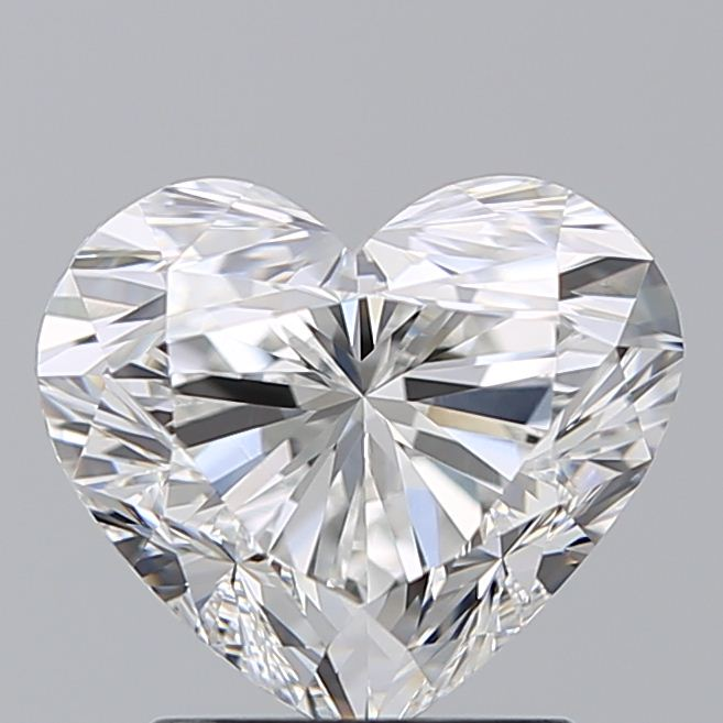 2.00 Carat Heart Loose Diamond, G, VVS2, Ideal, GIA Certified | Thumbnail
