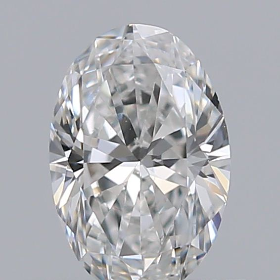 0.40 Carat Oval Loose Diamond, F, VS2, Excellent, GIA Certified