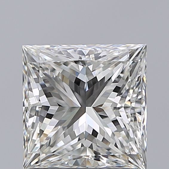 1.29 Carat Princess Loose Diamond, H, VS1, Super Ideal, GIA Certified