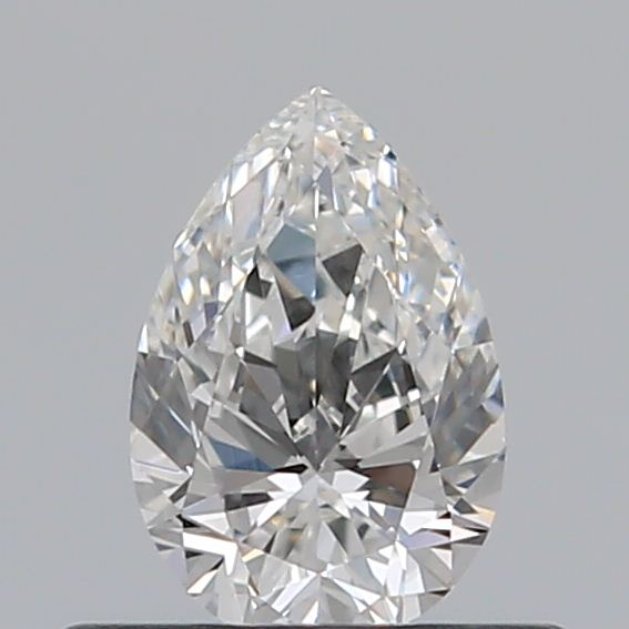 0.34 Carat Pear Loose Diamond, F, VVS2, Super Ideal, GIA Certified
