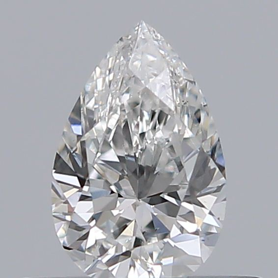 0.32 Carat Pear Loose Diamond, F, SI1, Ideal, GIA Certified