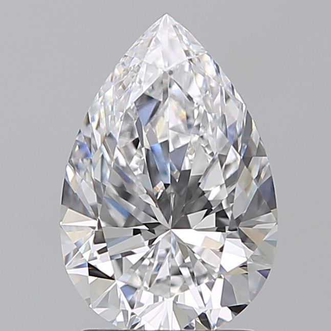 1.94 Carat Pear Loose Diamond, D, IF, Super Ideal, GIA Certified