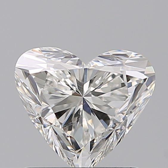 1.01 Carat Heart Loose Diamond, H, SI1, Excellent, GIA Certified