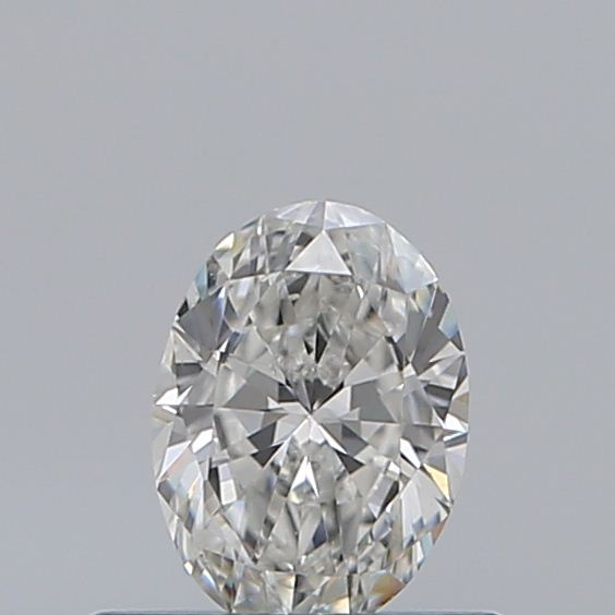 0.40 Carat Oval Loose Diamond, G, SI1, Excellent, GIA Certified