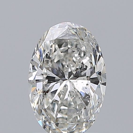 1.00 Carat Oval Loose Diamond, G, SI2, Excellent, GIA Certified