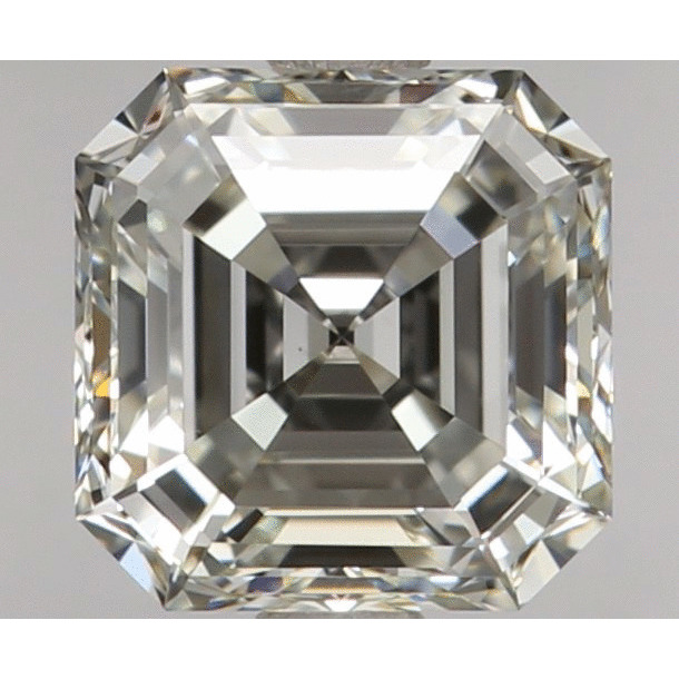 1.03 Carat Asscher Loose Diamond, K, VS1, Super Ideal, GIA Certified