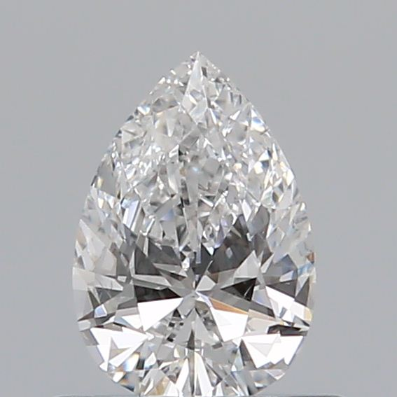 0.41 Carat Pear Loose Diamond, E, VS2, Excellent, GIA Certified