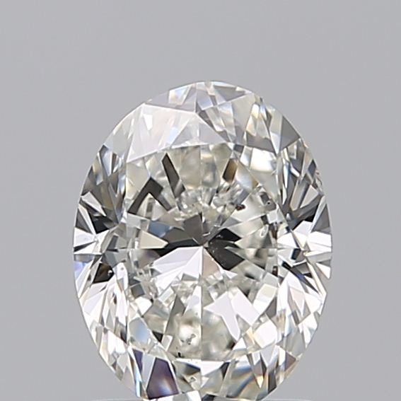 1.20 Carat Oval Loose Diamond, H, SI1, Excellent, GIA Certified