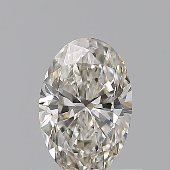 0.41 Carat Oval Loose Diamond, I, VVS1, Ideal, GIA Certified