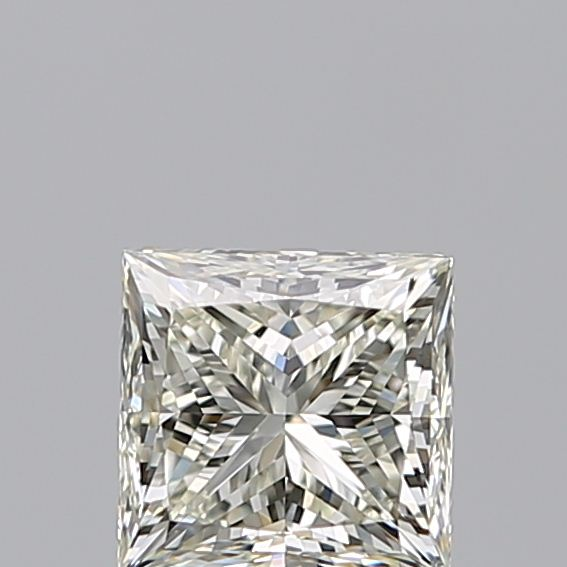 1.00 Carat Princess Loose Diamond, K, VS2, Ideal, GIA Certified