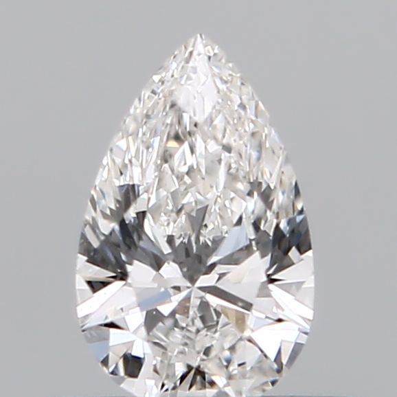 0.32 Carat Pear Loose Diamond, F, VVS2, Ideal, GIA Certified
