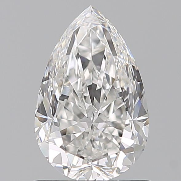 1.02 Carat Pear Loose Diamond, F, VS1, Excellent, GIA Certified