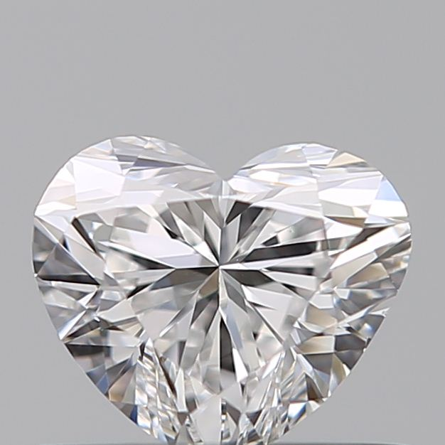 0.40 Carat Heart Loose Diamond, E, VS2, Ideal, GIA Certified
