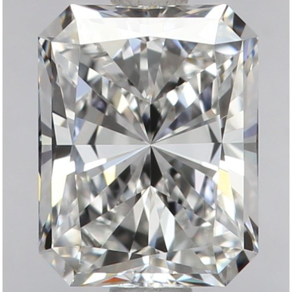 1.00 Carat Radiant Loose Diamond, E, VVS2, Super Ideal, GIA Certified