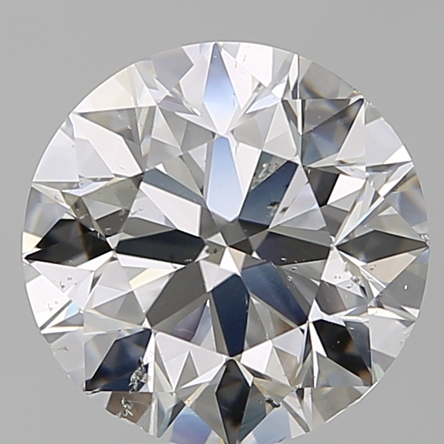 4.00 Carat Round Loose Diamond, F, SI1, Super Ideal, GIA Certified