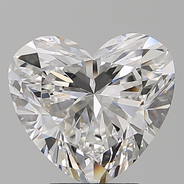 3.00 Carat Heart Loose Diamond, E, FL, Super Ideal, GIA Certified