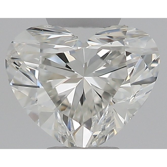0.30 Carat Heart Loose Diamond, H, SI2, Ideal, GIA Certified